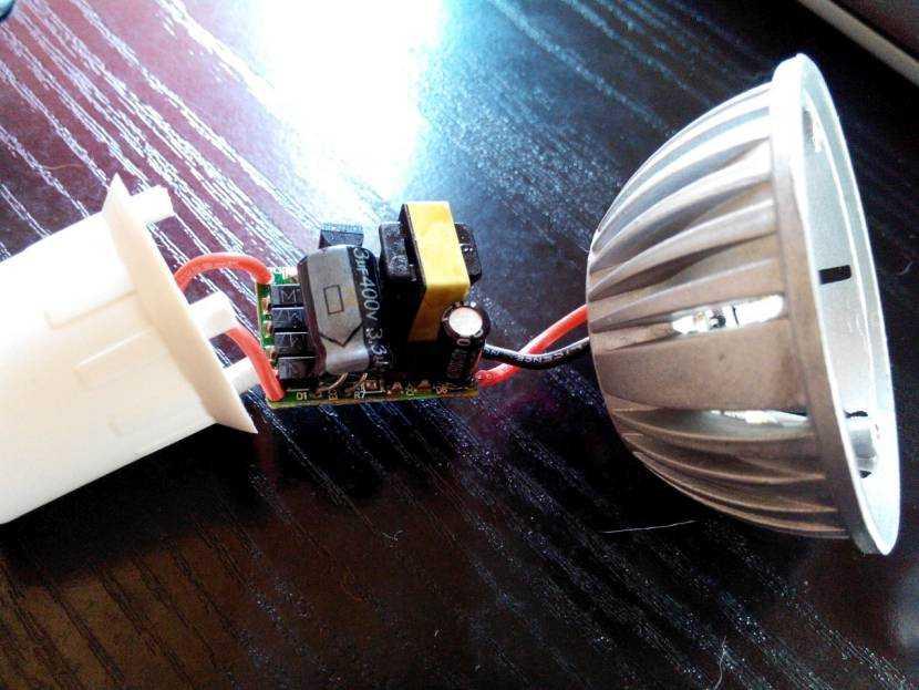 Как разобрать светодиодную лампу и правильно её отремонтировать