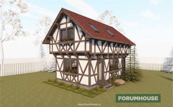 Мой дом типа немец: строительство настоящего фахверка почти женскими руками в кредит и на зарплату