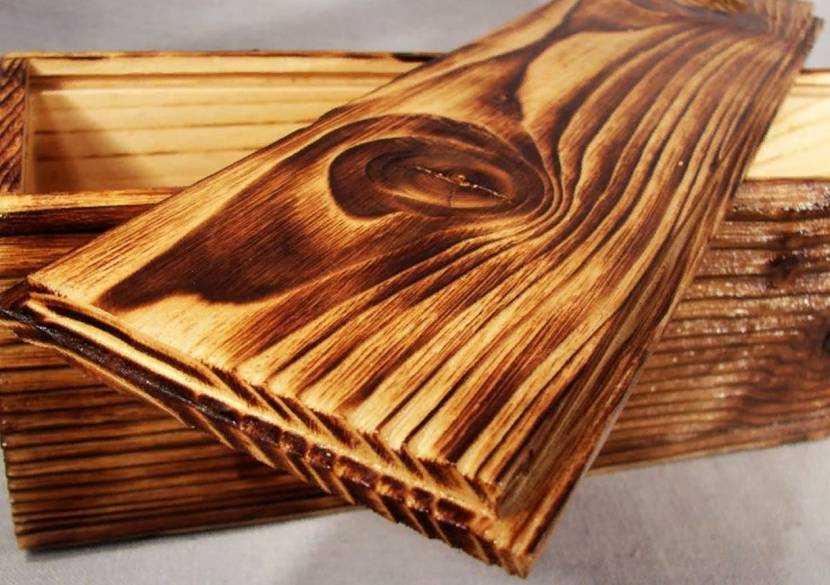 Обжиг дерева: особенности обработки, используемой древесины, виды и способы