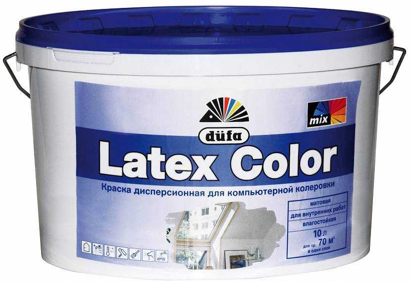 Особенности и разновидности латексной краски, правила нанесения